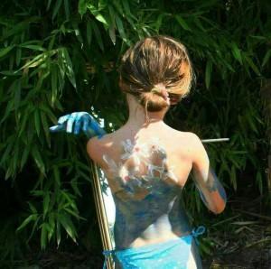 Jugando al Body Art - Ana Condado
